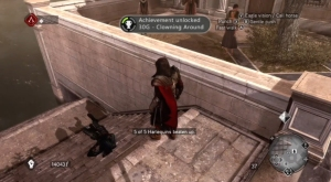 assassins-creed-brotherhood-the-da-vinci-disappearance-achievements-trophies-guide-screenshot-clowning-around
