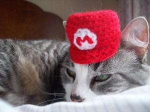 Neko's a gaming cat unlike me.