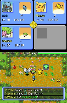 Pokemon mystery dungeon explorers of the sky 1