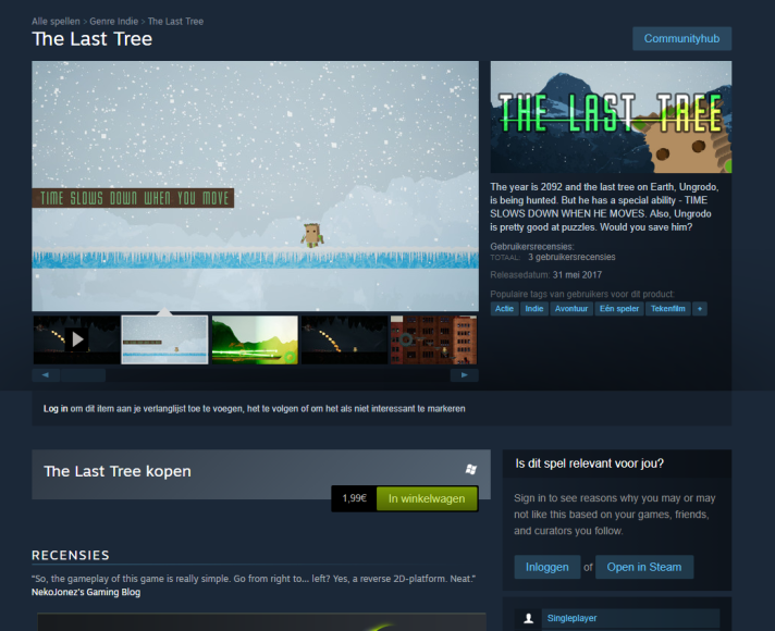 The last tree Steam