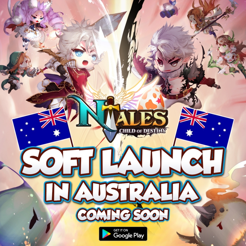 [1] Soft Launch in Australia
