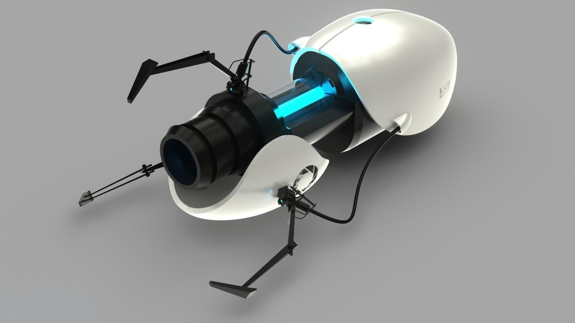 portal-gun-3d-model